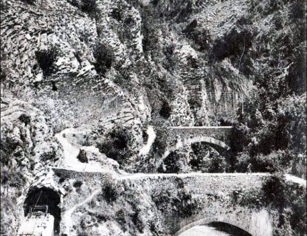 La stretta di Biselli - foto d'epoca