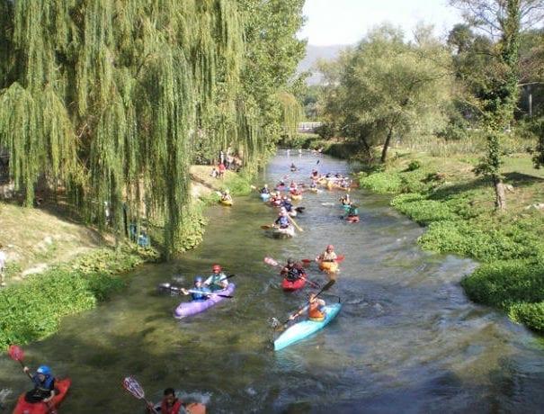 Canoa ad Arrone