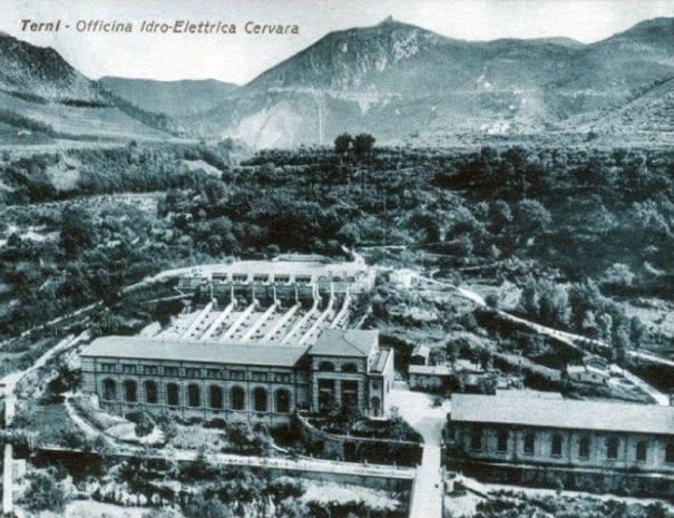 La Centrale di Cervara nel 1920