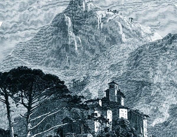 La montagna di Miranda - stampa