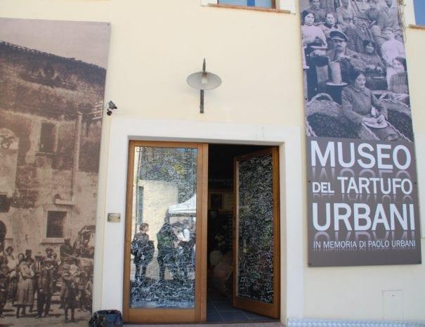 Museo del tartufo a Scheggino