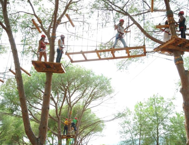 Il parco avventura Nahar