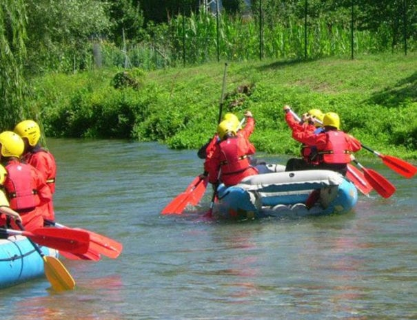Rafting soft ad Arrone