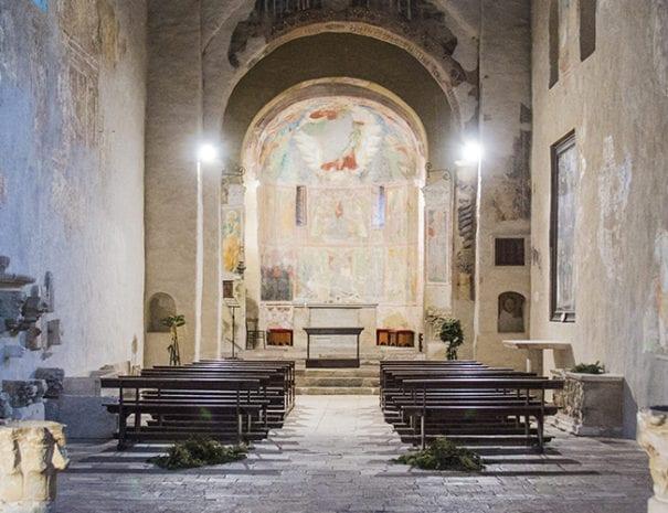 Chiesa dell'Abbazia. VII sec.