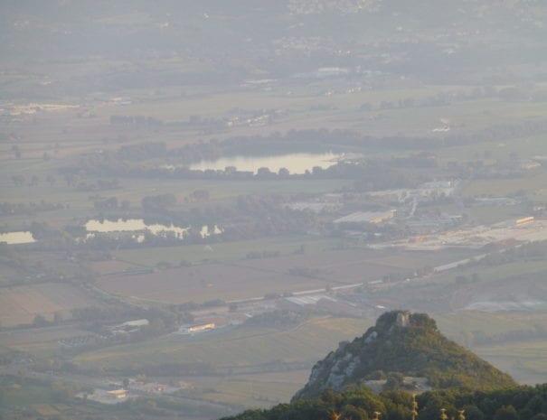 Vista della conca da Sant'Erasmo