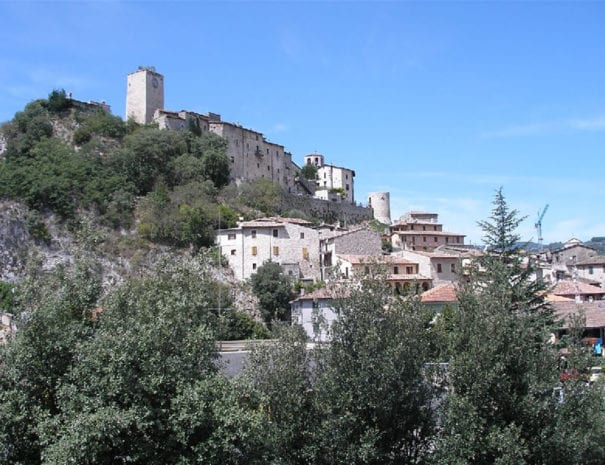 Il castello di Arrone