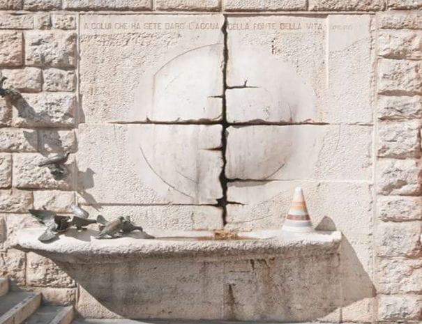 """Cascia - La """"Fontana della Vita"""""""