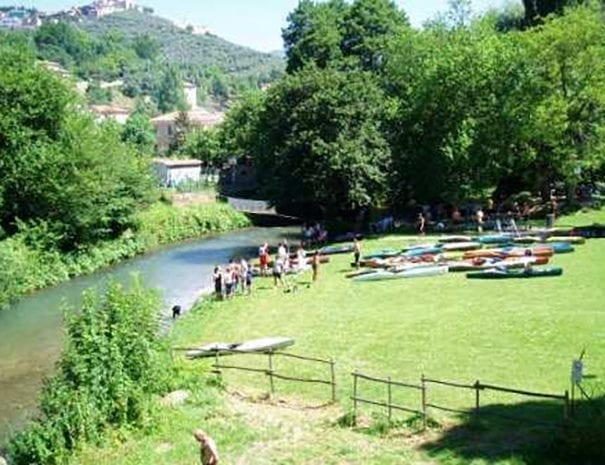 Centro canoe ad Arrone
