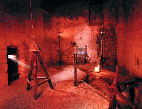 Narni sotterranea - stanza delle torture
