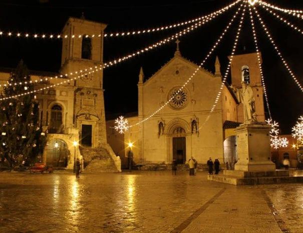La basilica di San Benedetto