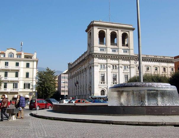 La fontana di Piazza Tacito