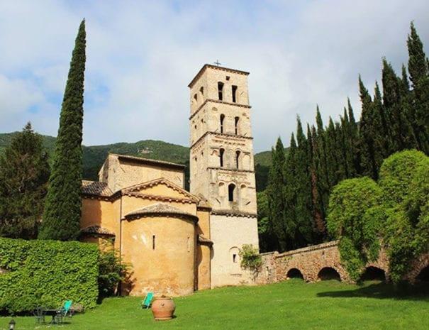 Abside e torre campanaria