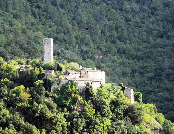 Il borgo fantasma di Umbriano