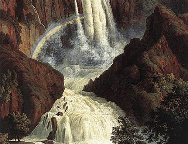 cascata dipinti_Jacob_Philipp_Hackert