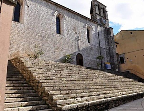 Piediluco - chiesa di S. Francesco